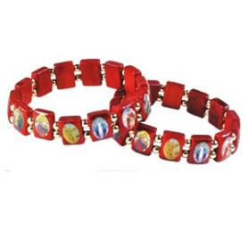 Bracelet multi-saints grand modèle