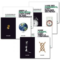 "Cartes ""Devenir compagnons"" par lot de 9"