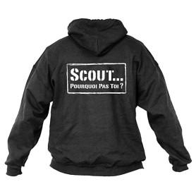 Sweat - shirt « Scout... pourquoi pas toi ? » Taille M