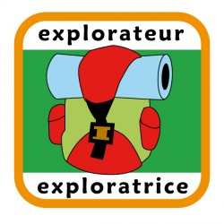 Insigne explorateur/exploratrice