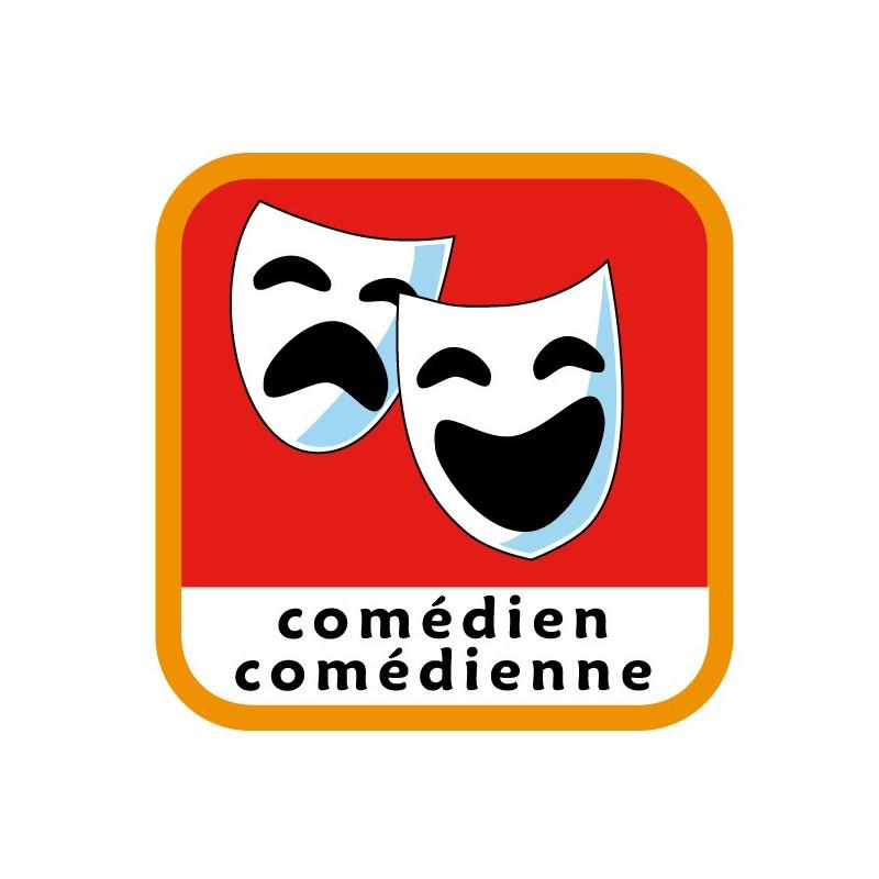 Insigne comédien/comédienne