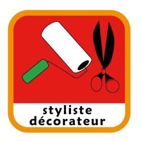 Insigne styliste/décorateur