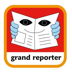 Insigne grand reporter