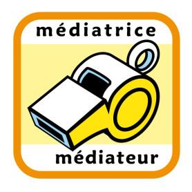 Insigne médiatrice/médiateur