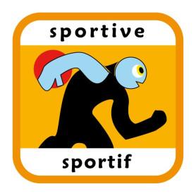 Insigne sportive/sportif