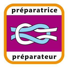 Insigne préparatrice/préparateur