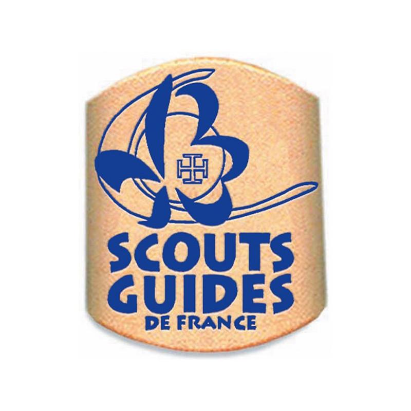 Bague de foulard en cuir SGDF