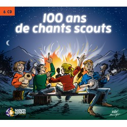 Coffret 100 ans de chants scouts - 6 CD
