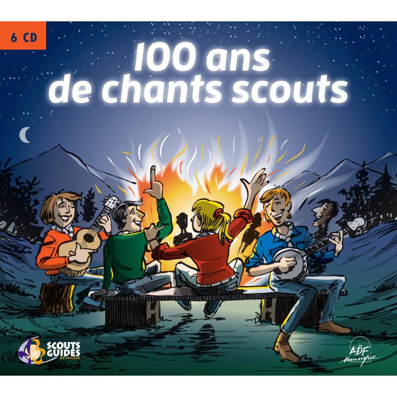 Coffret 100 ans de chants scouts - 6 CD