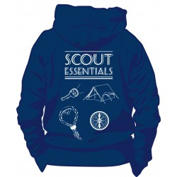 Sweat-shirt « Scouts essentials » bleu marine Taille 9/11 ans