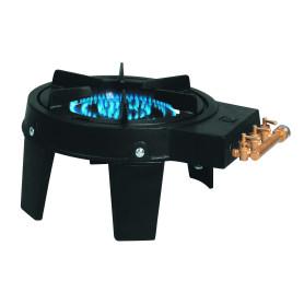 Rechaud fonte 3 brûleurs-4 pieds-3 robinets
