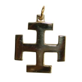 Croix scoute en bronze GM