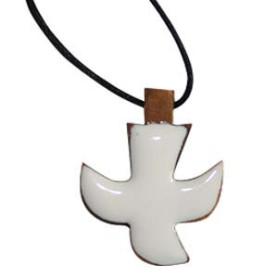 Croix en bois blanche