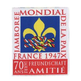 Insigne du Jamboree Mondial de la Paix - 70 ans