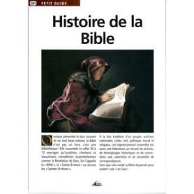 Histoire de la Bible - dépliant 8 pages -