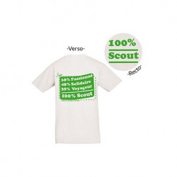 T-shirt « 100 % Scout »