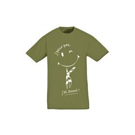 T-shirt « J'peux pas, j'ai scout ! »