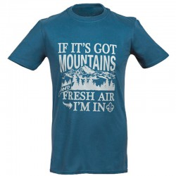 T-shirt I.scout « If it's got mountains »