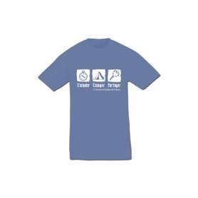 T-shirt « S'orienter, camper, partager »