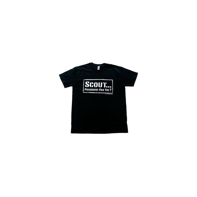 T-shirt « Scout... pourquoi pas toi ? »