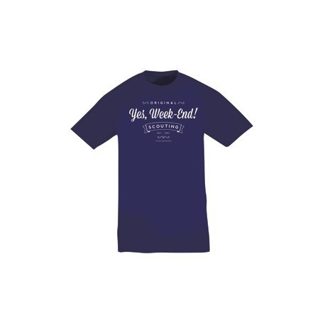 T-shirt « Yes, week-end ! »