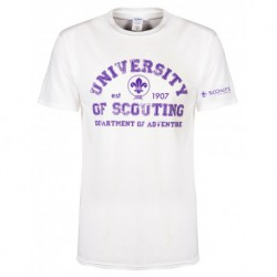 T-shirt « University of Scouting »