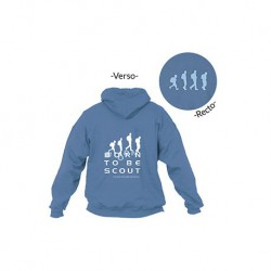 "Sweat à capuche ""Born to be scout"""