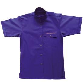 Chemisette violette Cadres - modèle Femme