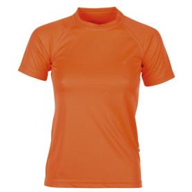 T-shirt sport femme - orange