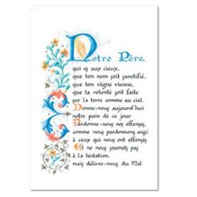 """Carte postale """" Notre Père """""""