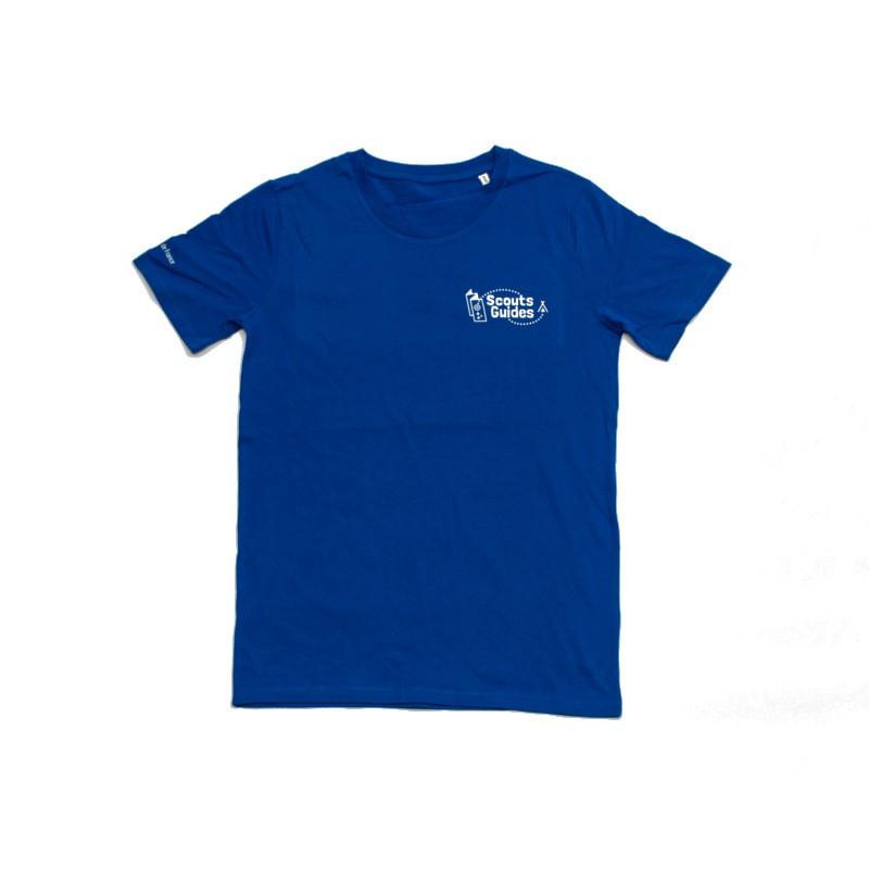 T-shirt bleu enfant Scouts / Guides