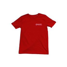T-shirt Pionniers / Caravelles - rouge