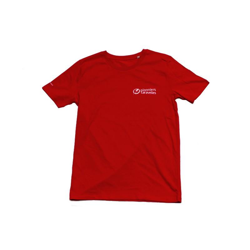 T-shirt rouge Pionniers / Caravelles