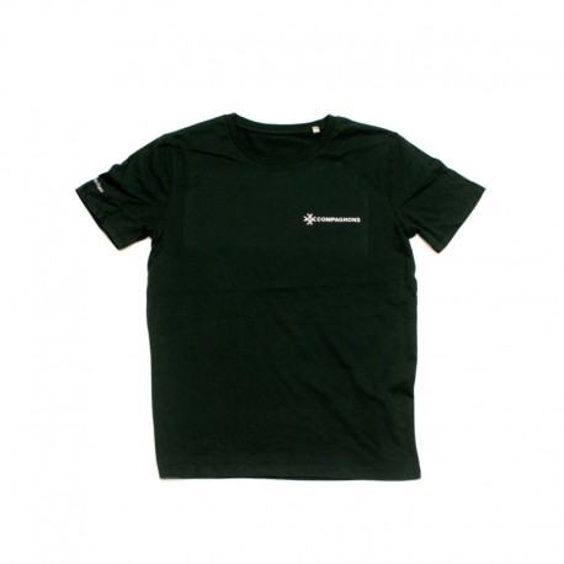 T-shirt vert Compagnons