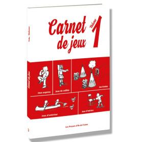 Carnet de jeux - volume 1