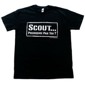 Tee - shirt « Scout... pourquoi pas toi ? » Taille L