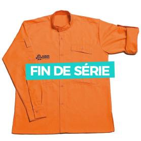 Chemise orange Louveteaux /Jeannettes - modèle chef/ cheftaine
