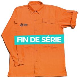 Chemise orange Louveteaux/Jeannettes - modèle jeune