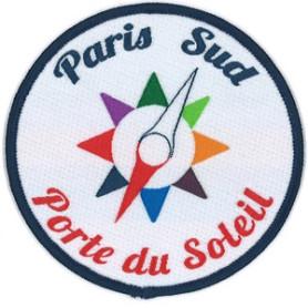 Insigne de territoire PARIS- PORTE du SOLEIL