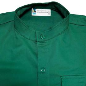 Chemise verte en coton Fairtrade - Compagnons