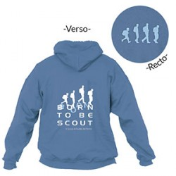 Sweat - shirt « Born to be scout » Taille XL
