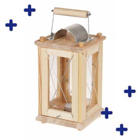 Lanterne en bois à monter soi-même