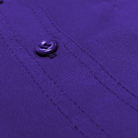 Bouton violet par lot de 4