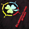T-shirt noir femme logo EEDF - col V