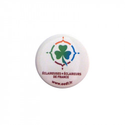Badge rond EEDF - 38 mm