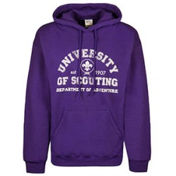 Sweat - shirt « University of scouting » Taille XL