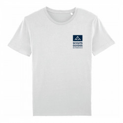 T-Shirt officiel SGDF adulte - en coton bio