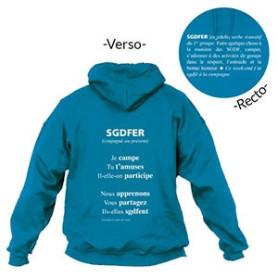 Sweat - shirt « SGDFER » Taille M