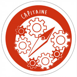 Badge de responsabilité - Capitaine