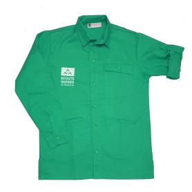 Chemise vert clair nouveau logo - Farfadets